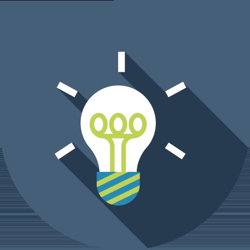 A lightbulb signifying innovation
