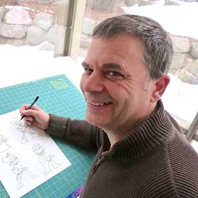 John Kovalic, illustrator and author, uses Freedom to be more productive